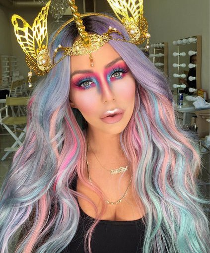 Celebrities who turned into unicorns at Halloween