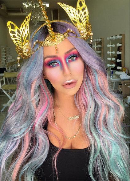 Aubrey_O'Day_unicorn_halloween2