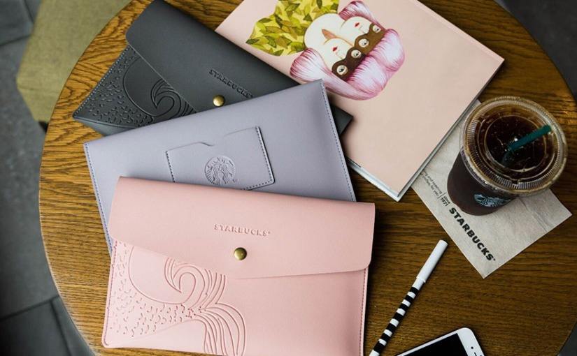 Starbucks has launched a new Siren Tail Clutch